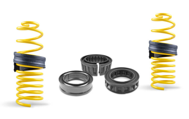 Rubber Coil Spring Spacers