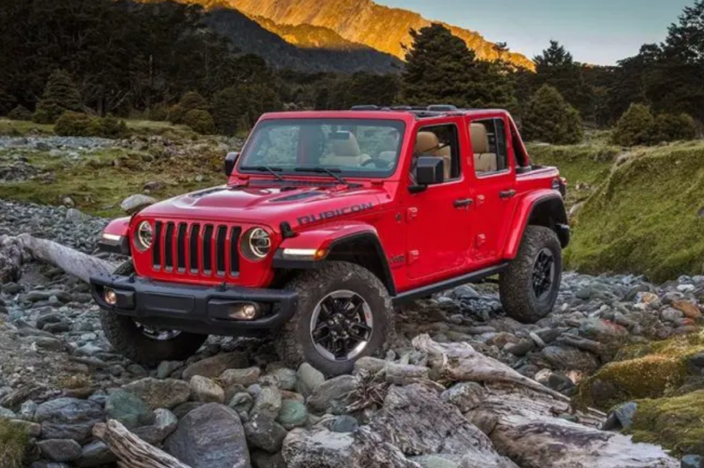 Jeep Wrangler Ability to go Topless