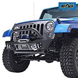 E-Autogrilles Stubby Front Bumper With OE Fog Light