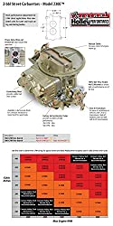 Holley 0-7448 Model 2300 Vehicle Specific Engines