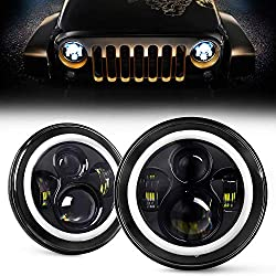 YEEGO DIRECT DOT Approved 7 Inch LED Halo Headlights