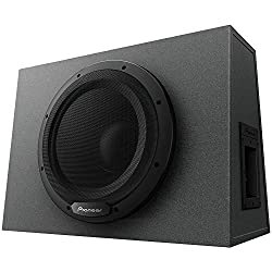 Pioneer TS-WX1210A 12 Inch Sealed Active Subwoofer Enclosure with Built-In Amplifier
