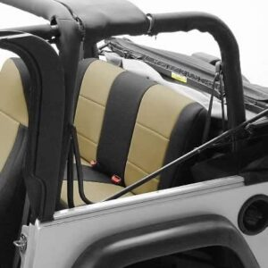 Coverking Custom Fit Seat Cover for Jeep Wrangler TJ 2