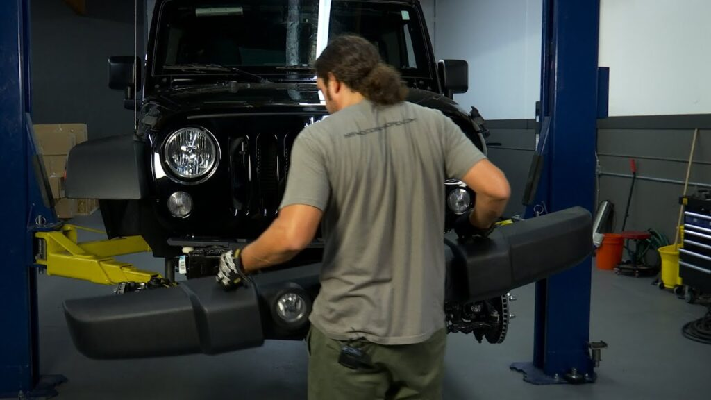 How to Replace Jeep Wrangler Bumpers
